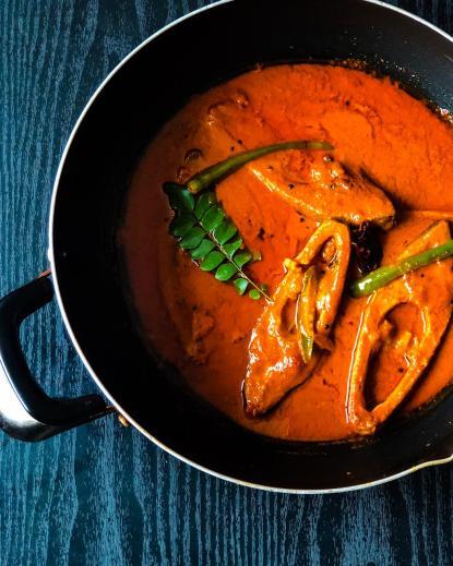 Kanyakumari style Fish curry – Homemade